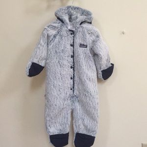 Patagonia Fuzzy One-Piece Jacket 6M